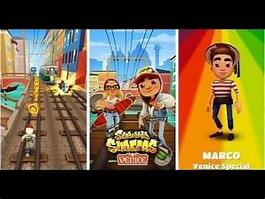 SUBWAY SURFERS Venice Italy Update | Marco, Mask + Gondola ...