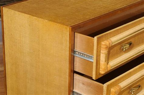 how to finish kitchen cabinets outstanding pair of vintage raffia chests with rattan and 7249