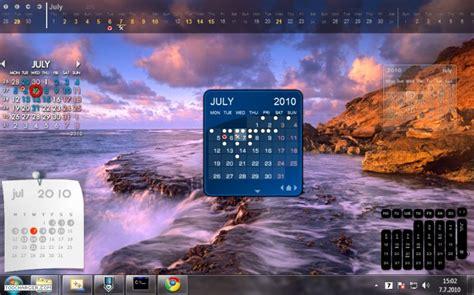 agenda sur le bureau installer un calendrier personnalisé sur windows