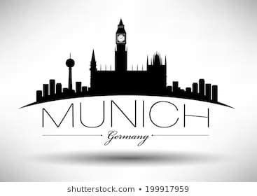 parken am englischer garten münchen munich skyline im 225 genes fotos y vectores de stock