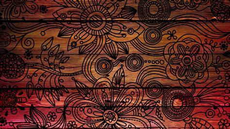 Картинка дерево, фон, узоры, цветы, Текстура, красиво