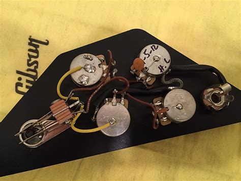 gibson sg wiring harness pulled from 61 ri reverb