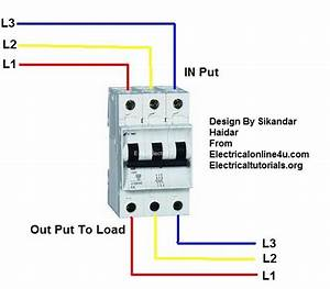 Dc 3 Pole Breaker Wiring Diagram