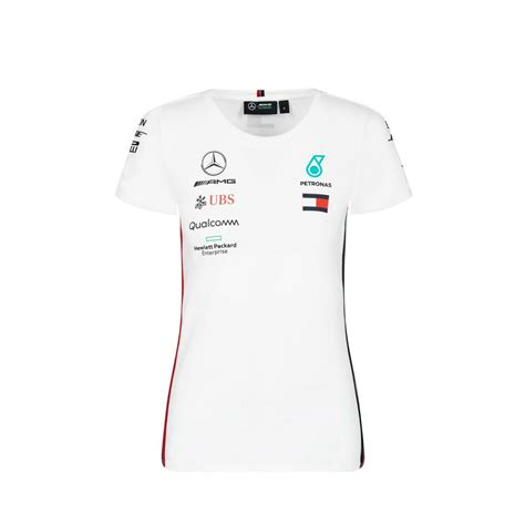 Great savings & free delivery / collection on many items. Mercedes-AMG Petronas 2019 F1 Team Women's T-Shirt White