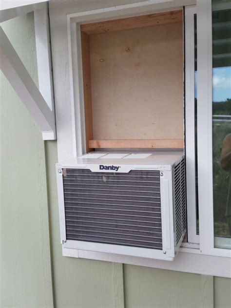 decorating interesting installing slider window air conditioner simple house