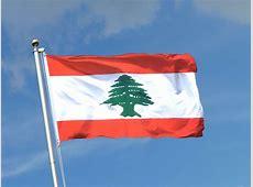 Libanon Fahne kaufen 90 x 150 cm FlaggenPlatzde