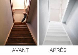 Tapis Escalier Ikea : deco escalier peint ~ Teatrodelosmanantiales.com Idées de Décoration