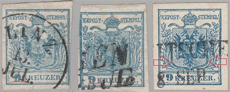 Postage Stamps Of The Austrian Empire