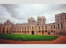 Windsor Castle, the favorite residence of the Queen