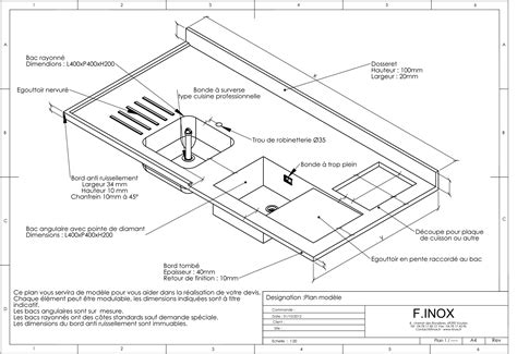profondeur plan de travail cuisine cuisine profondeur plan de travail