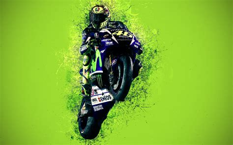 wallpapers valentino rossi  grunge style