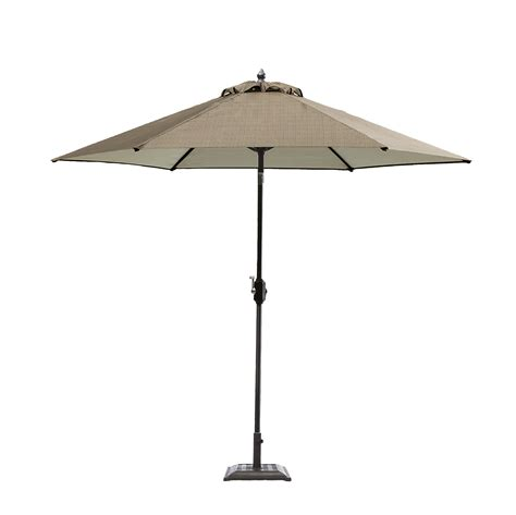 sears large patio umbrella garden oasis harrison 9 patio umbrella in brown sears
