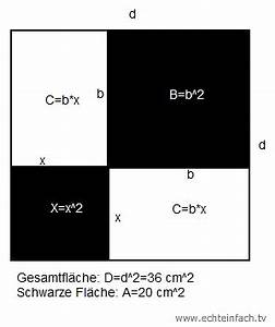 Seitenlänge Quadrat Berechnen : quadrat die seitenl nge x eines quadrats mit hilfe satz des vietas berechnen mathelounge ~ Themetempest.com Abrechnung