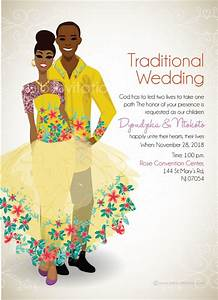 tsonga traditional wedding invitation card With order wedding invitations online south africa