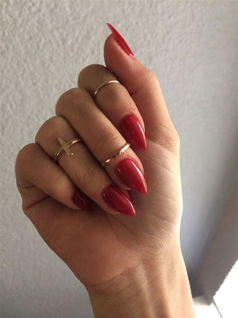 Black nexgen stiletto nails - New Expression Nails