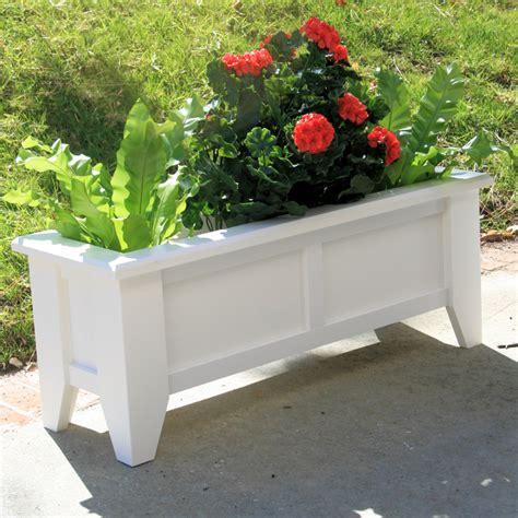 36 quot hton premier deck patio planter
