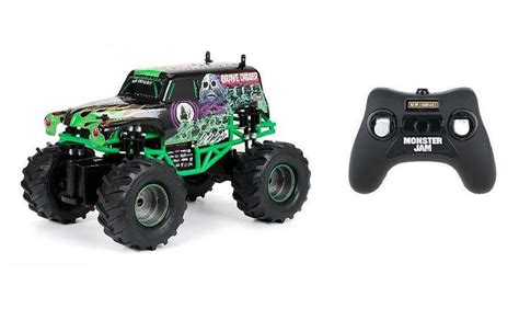 toy monster trucks racing rc remote control truck monster jam grave digger toy