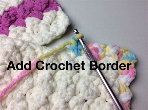 Add A Border To A Blanket Or The Marshmallow Crochet Baby Blanket By Kristen Mangus In The Visionary Art Blankets Playboy Fleece Blanket Newborn Baby Wrap Grey Throws And Super King Size How Do You Make A Tie Moving Usa Knitted Pattern