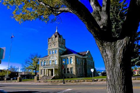historic huerfano county courthouse  walsenburg