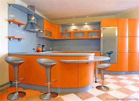 orange kitchens ideas pictures of kitchens modern orange kitchens kitchen 7