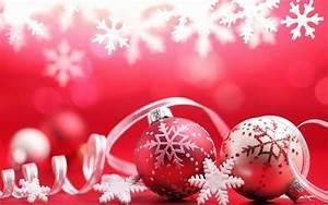 Weihnachten In Hd : bilder roten wallpaper mit weihnachtskugeln und schnee hd weihnachten hintergrund pixx agentur ~ Eleganceandgraceweddings.com Haus und Dekorationen