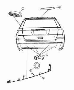 Chrysler Aspen Harness  Wiring  Rear Fascia  Sensor Wiring