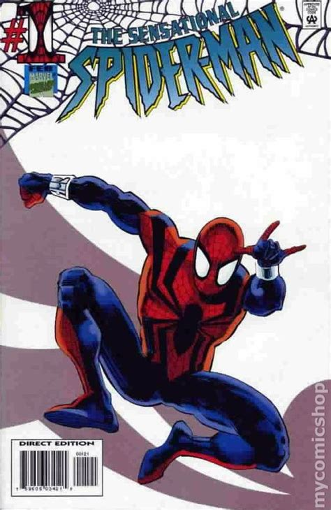 sensational spider man  st series comic books