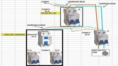 esquema electrico de aire acondicionado split diagrama de inst aires acondicionados