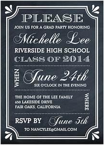Create the Perfect Graduation Party Invitation   Mixblog ...