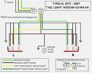 And Tail Light Wiring Schematic Diagram Typical 1973