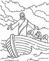 Jesus Coloring Storm Calms Colorear Printable Bible Cool2bkids Nubes Imagenes Getdrawings Popular sketch template