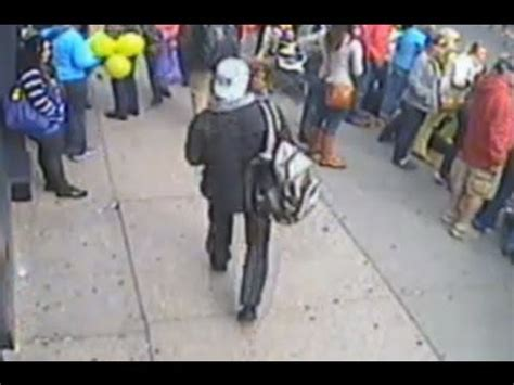 Surveillance Video of Dzhokhar and Tamerlan Tsarnaev ...