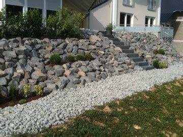 Gartengestaltung Am Hang Mit Steinen by Gartengestaltung Hanglage Mit Steinen