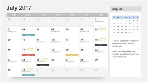 powerpoint calendar template free calendar 2017 template