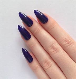Dark Purple Stiletto Nails Pictures, Photos, and Images ...
