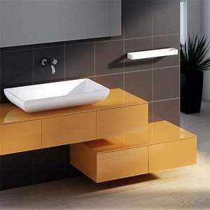 Waschtischplatte Mit Schublade : waschtischplatte holz aufsatzwaschtisch waschtischplatte aus recyceltem holz fliesenonkel ~ Sanjose-hotels-ca.com Haus und Dekorationen