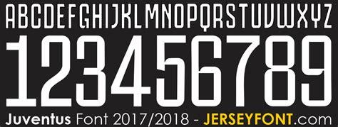 Juventus Font 2017/2018