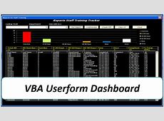 Dynamic Userform Dashboard – Excel VBA Online PC Learning