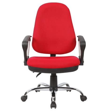 fabric desk chair with arms best computer chairs for