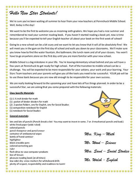 teacher  letter  students stars team