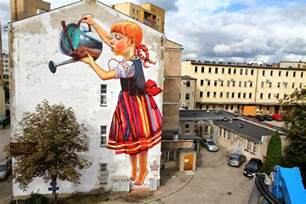 natalia rak new mural for folk on the street białystok