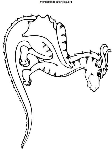 disegni dei draghi da colorare simpatici draghi da colorare mondo bimbo