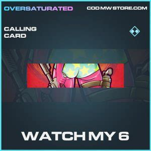 So i made a list of the best animated/3d calling cards in modern warfare season 1 and 2 that are cool and rare. Oversaturated - Operators & Identity Item Store Bundle - Call of Duty Black Ops Cold War & Warzone