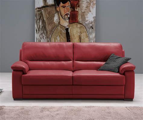 divani letto pelle divano doris pelle 3 posti