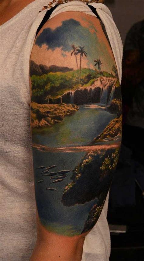 scenic landscape tattoos tattooblend