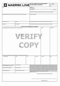 Bill of lading lc marine bl in a letter of credit for B l documents
