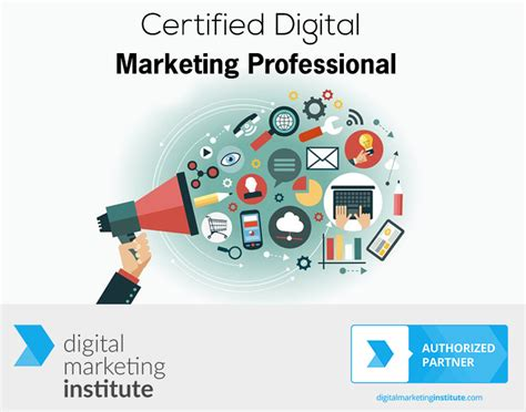 certified digital marketing professional certified digital marketing professional with exams