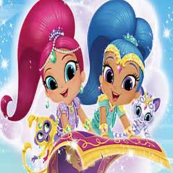Shimmer and Shine Games
