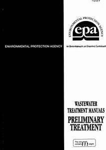 Epa Water Treatment Manual Preliminary