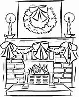 Fireplace Coloring Christmas Drawing Pages Printable Fire Stable Colour Podobny Obraz Yeti Xmas Getdrawings Drawings Fireplaces Kolorowanki Coloringkidz Found Getcolorings sketch template